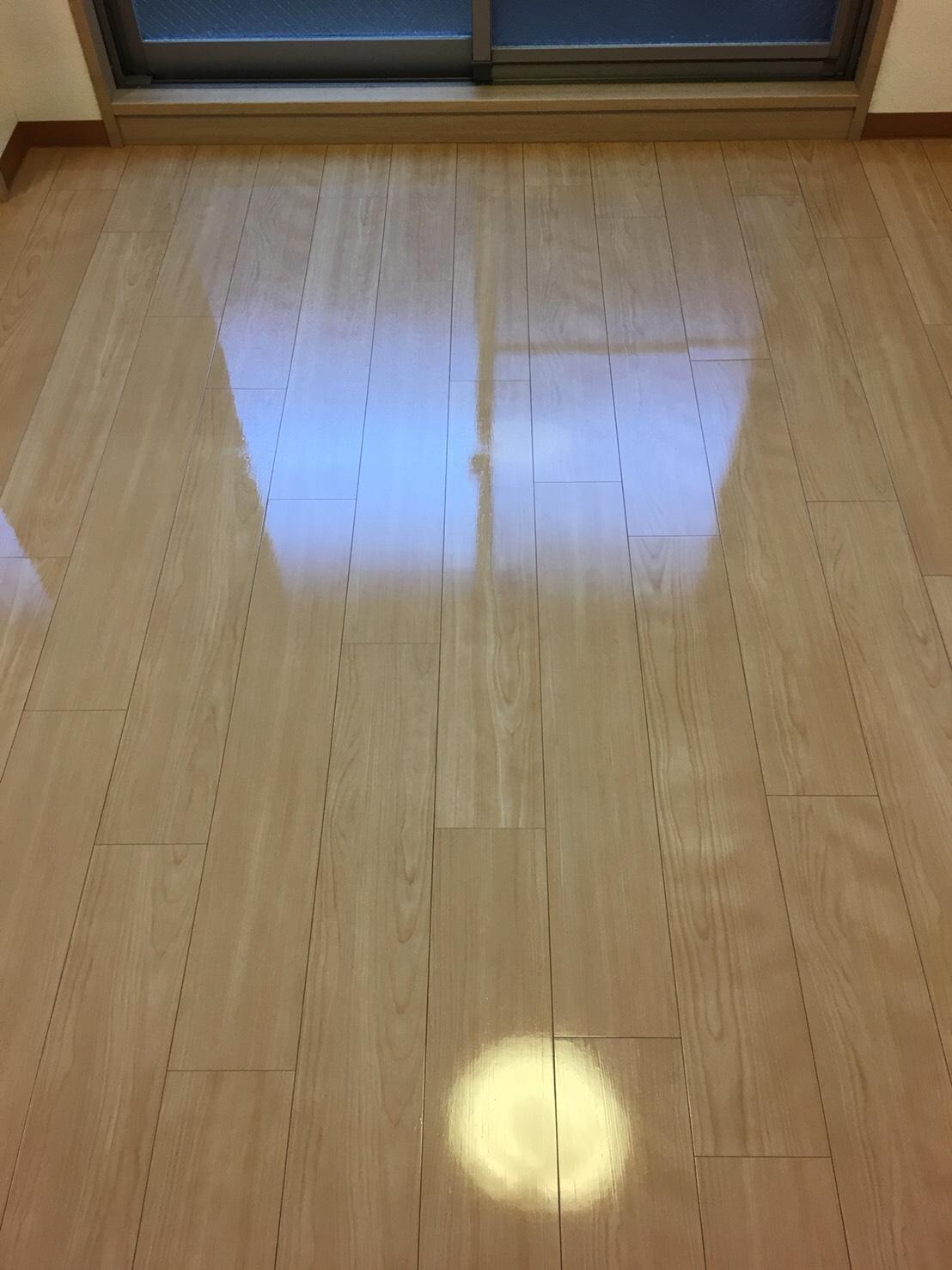 伊丹市 床清掃 ワックス /ハウスクリーニング おそうじプラス