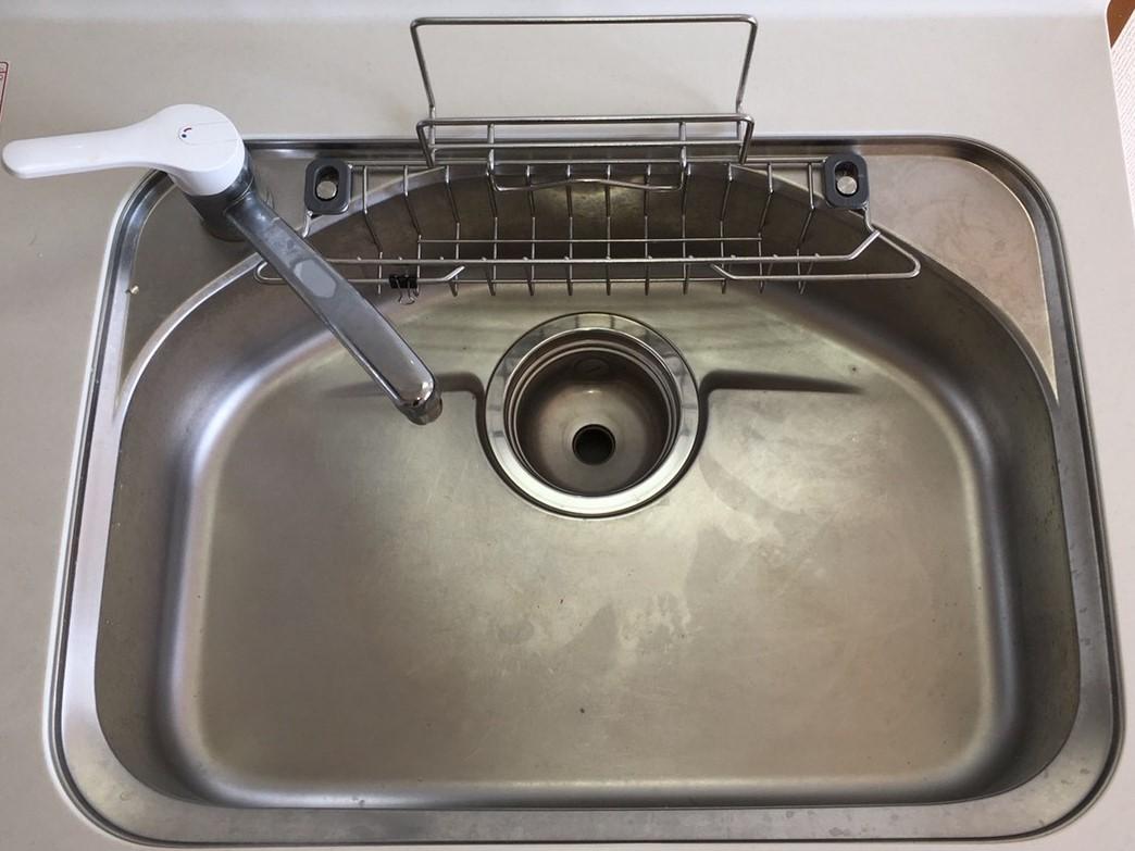 伊丹市 キッチン「シンクのお掃除」ハウスクリーニング/おそうじ/ おそうじプラス