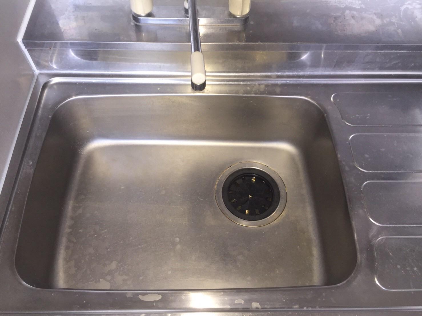伊丹市 台所「シンク清掃」クリーニング ハウスクリーニング おそうじ/おそうじプラス