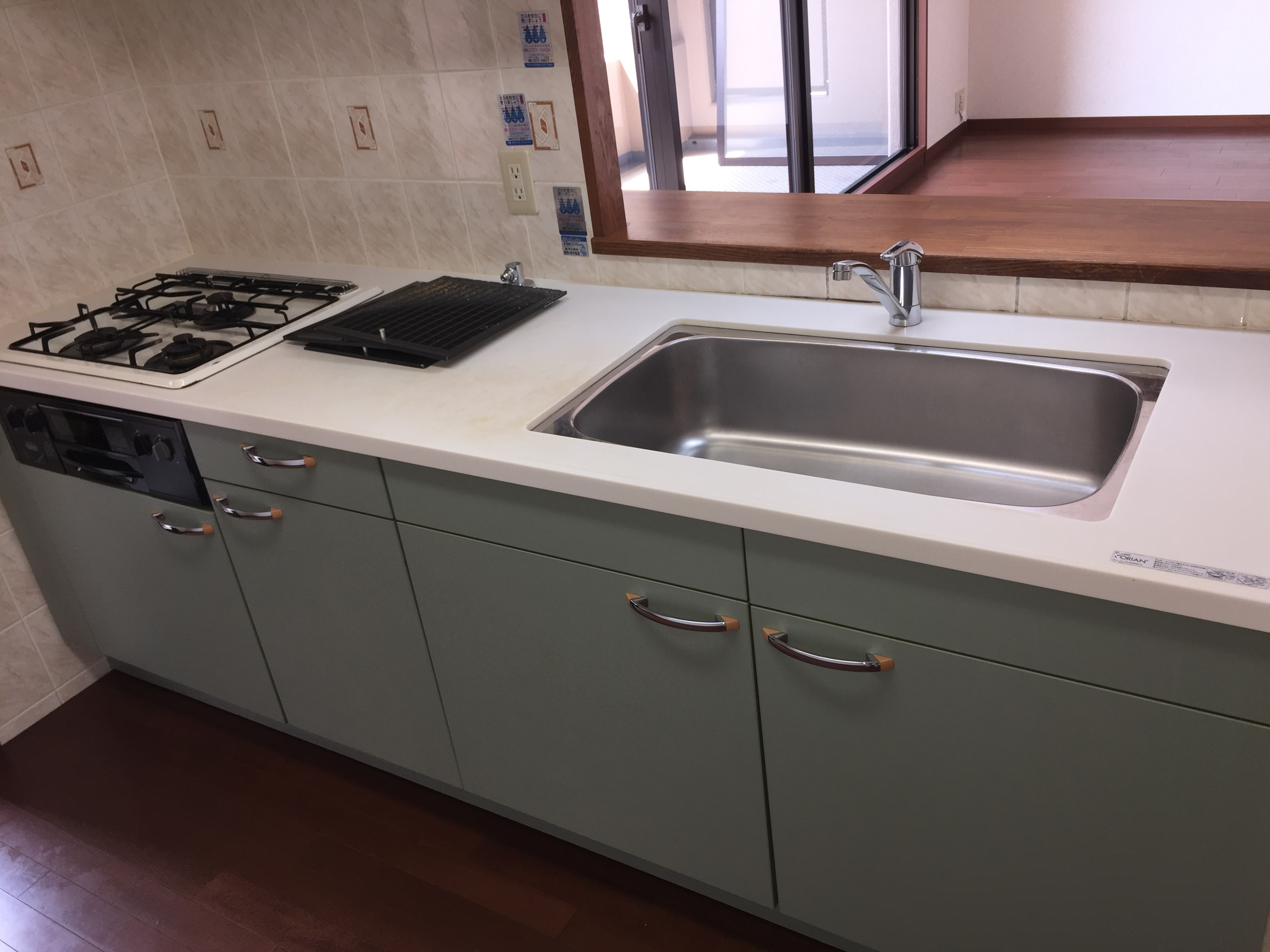 宝塚市 台所・台所掃除、レンジフードの頑固な油汚れなどハウスクリーニングいたします!