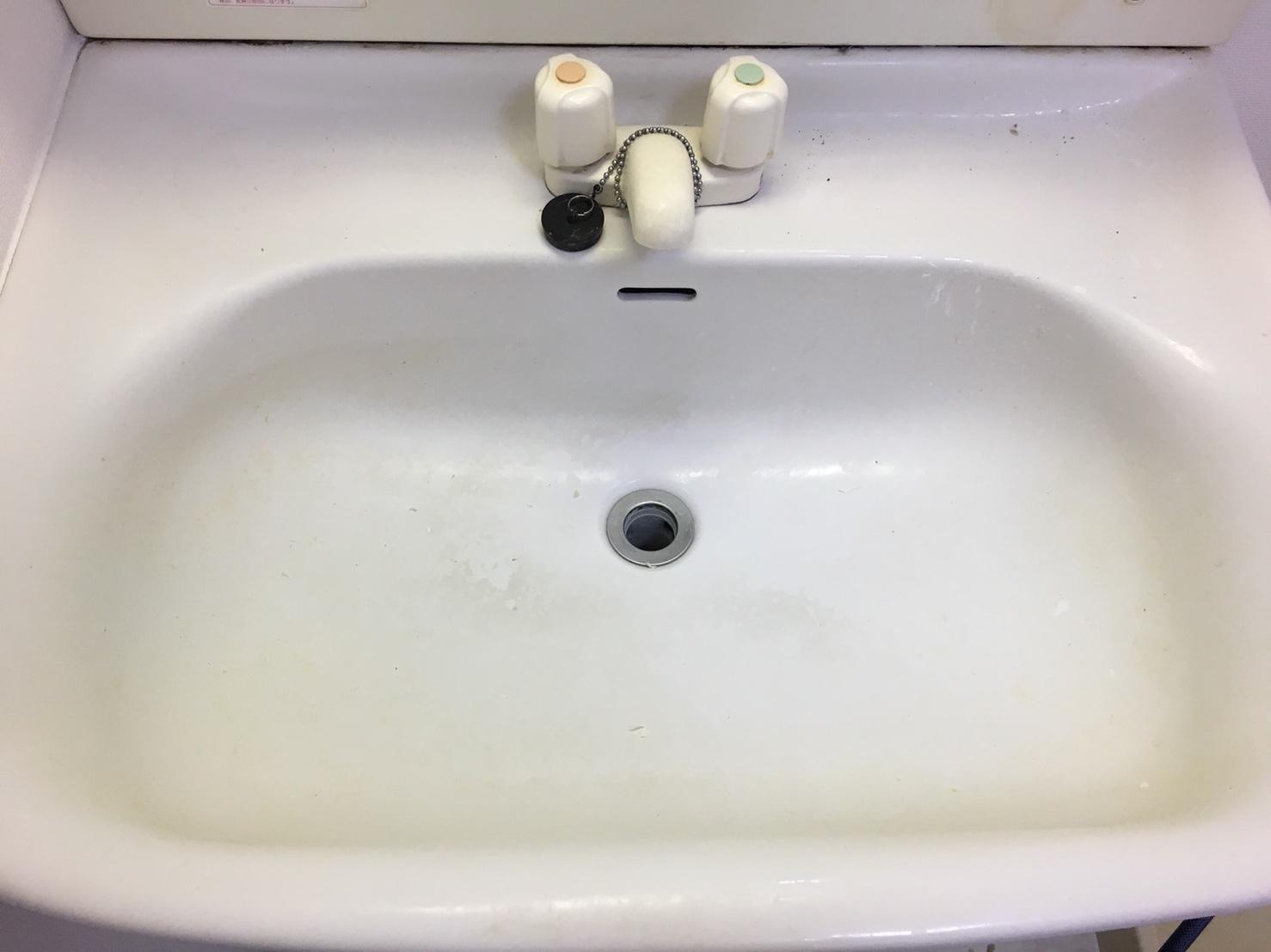 洗面台クリーニング♪毎日のお掃除おそうじプラスでは、お見積はもちろん出張料も無料で対応~お客様の笑顔!が一番のやりがいにつながり作業を全力でさせて頂きます!