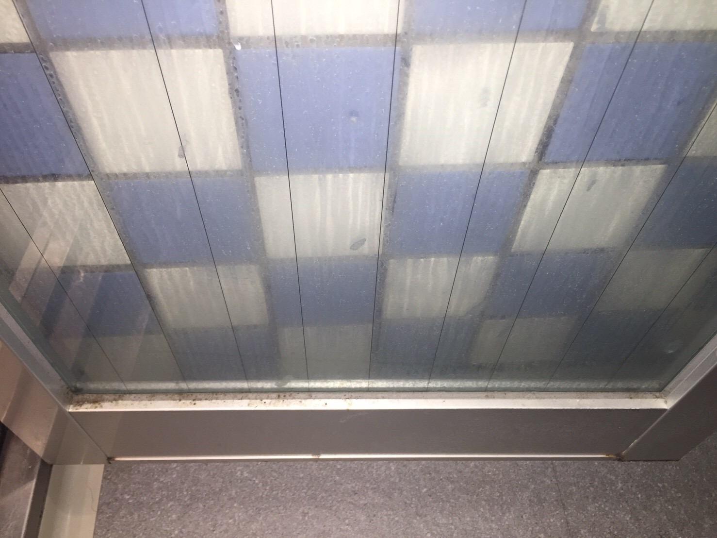 伊丹市 ハウスクリーニング/扉のカビや水垢等のしつこい汚れを徹底洗浄!