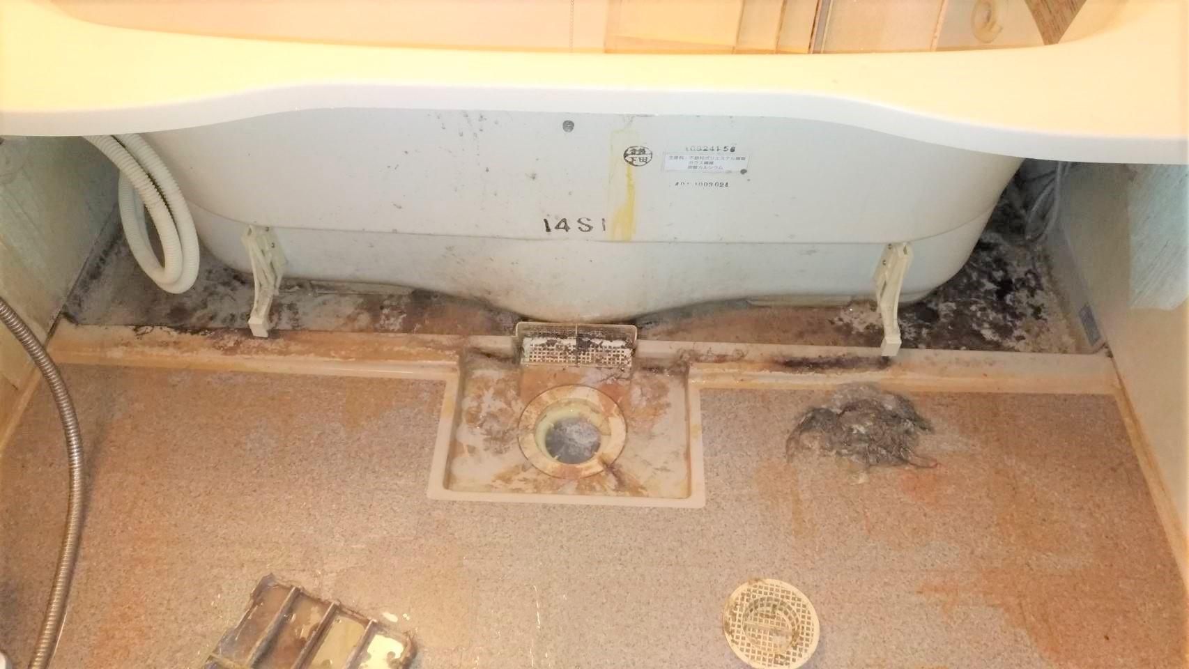 「エプロン」浴槽の頑固な汚れをきれいスッキリ 電話受付365日受付OK!LINE申請・友達追加歓迎!明るく元気なスタッフが日々頑張っております。